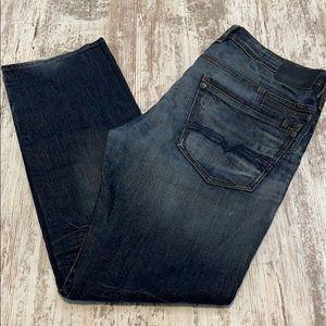 Buffalo David Bitton Indigo Six-X Straight Jeans